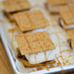 #shop How to make indoor S'mores anytime of the year in under ten minutes via flouronmyface.com