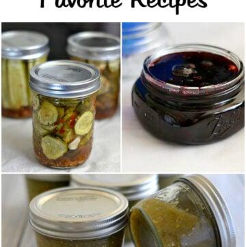 Ball Blue Book favorite canning recipes via flouronmyface.com