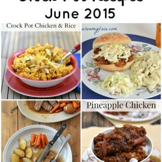 Best Crock Pot Recipes June 2015 via flouronmyface.com