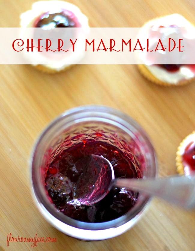 Cherry Marmalade via flouronmyface.com