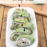 Hidden Valley Cucumber Ranch Turkey Wraps Recipe via flouronmyface.com