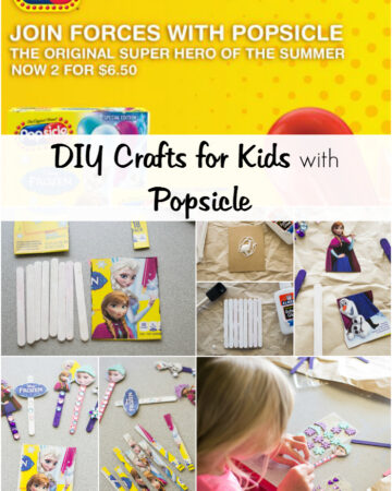 DIY Crafts for Kids with Popsicle via flouronmyface.com #ad