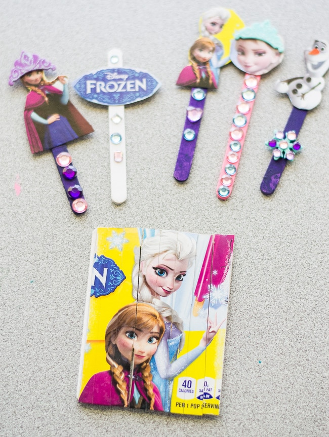 DIY FROZEN Puzzle