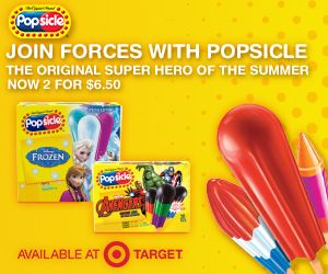 Be a #PopsicleHero this summer with Popsicle  ice pops and Target #ad