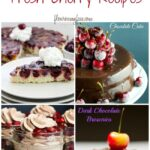 28 Amazing Fresh Cherry Recipes