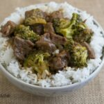 Forget the Chinese take-out and make this Easy Crock Pot Beef and Broccoli at home and in the crock pot via flouronmyface.com