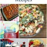 Best 4th of July Recipes via flouronmyface.com