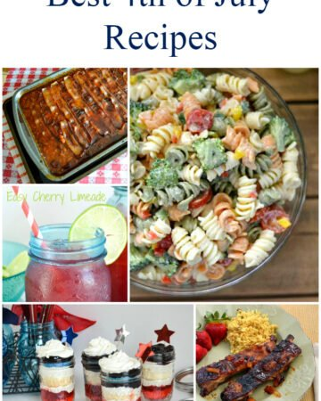 Best 4th of July Recipes via flouronmyface.com