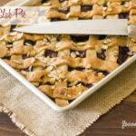 Cherry Slab Pie recipe via flouronmyface.com