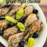 Crock Pot Greek Style Chicken #CrockPotFriday