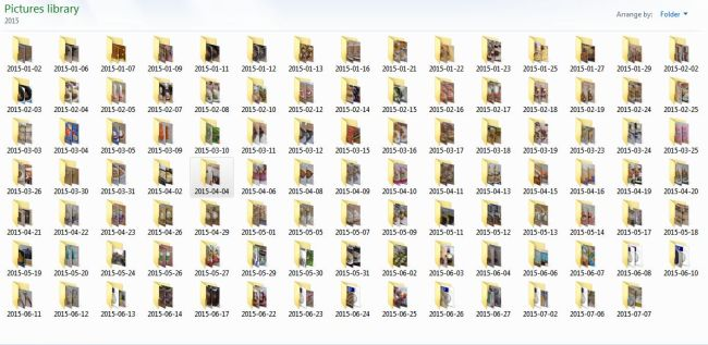 Digital Picture Folder 2015
