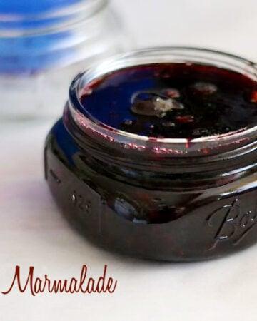 Easy Cherry Marmalade recipe via flouronmyface.com