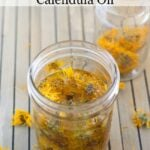 DIY Calendula Oil