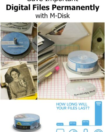 Save Important Files Permanently with M-Disk via flouronmyface.com