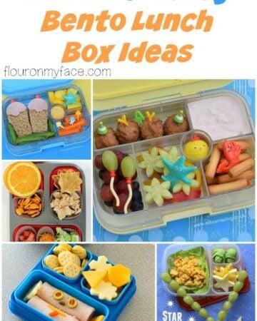 25 Bento Box Lunch Ideas for back to school via flouronmyface.com