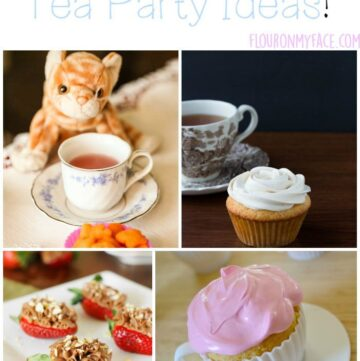 25 Little Girl Tea Party Ideas via flouronmyface.com