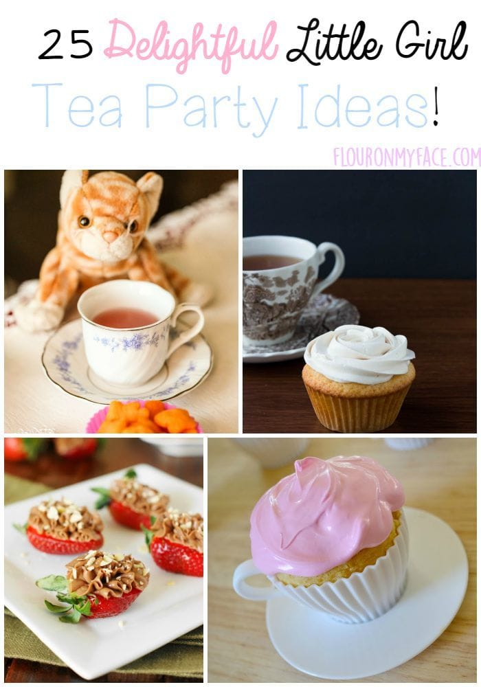 25 Little Girl Tea Party Ideas Flour On My Face