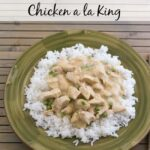 Crock Pot Chicken a la King