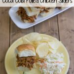 Crock Pot Coca Cola Pulled Chicken #CrockPotFriday