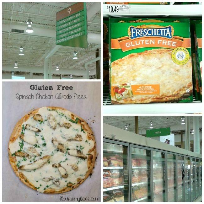 Freschetta Gluten Free Pizza recipe via flouronmyface.com #shop