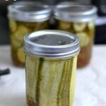 Kosher Dill Pickle Sandwich Slices via flouronmyface.com