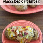 Loaded Hasselback Potatoes #CountryCrock @Kroger