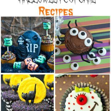 30 SPectacular Halloween Cupcake recipes via flouronmyface.com