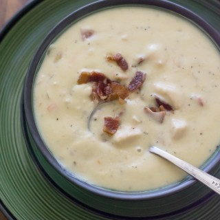 Crock Pot Cream of Chicken Soup recipe via flouronmyface.com