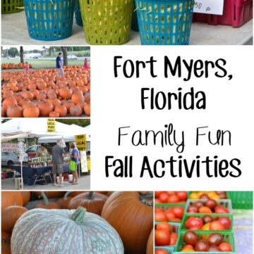 Fort Myers Florida Fall Activities via flouronmyface.com
