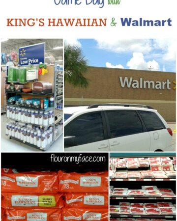 Game Day with King's Hawaiian & Walmart via flouronmyface.com