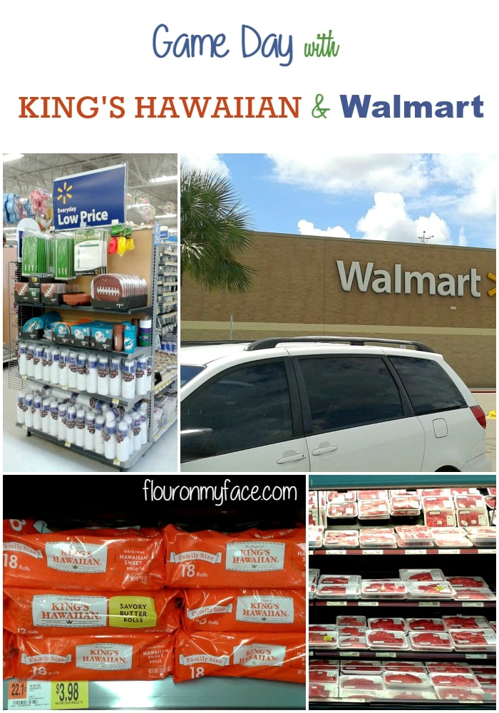 Game Day with King's Hawaiian & Walmart via flouronmyface.com
