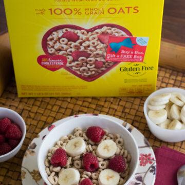 Give a box of Cheerios via flouronmyface.com #shop