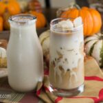 Pumpkin Spice Coffee Creamer recipe via flouronmyface.com