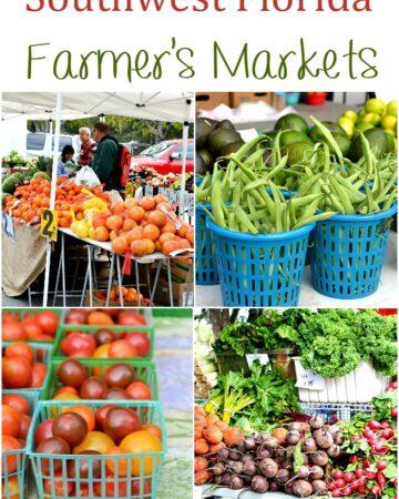 Southwest Florida Farmer's Markets via flouronmyface.com
