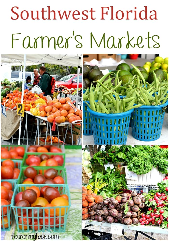 Southwest Florida Farmer's Markets via flouronmyface.com