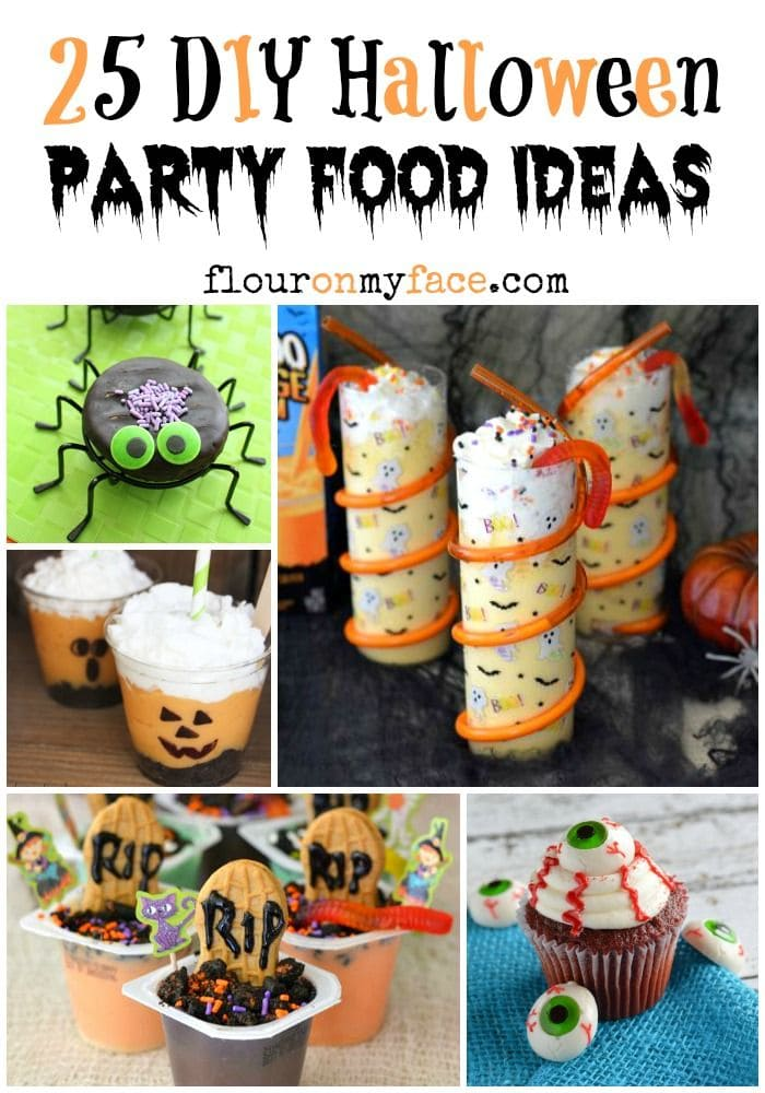 Homemade Kids Halloween Party Decorations