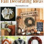 25 Fabulous Fall Decorating Ideas via flouronmyface.com