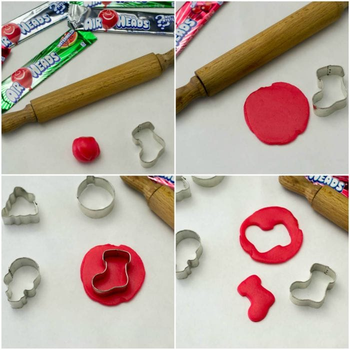 How to make Airheads Candy Ornaments ste by step via flouronmyface.com #AirheadsCrafts
