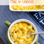 Butternut Squash Mac and Cheese recipe via flouronmyface.com
