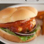 Cheddar BBQ Burgers