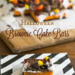 Gooey Brownie Cake Bars