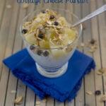 Pineapple Cottage Cheese Parfait recipe via flouronmyface.com