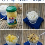 Pineapple Cottage Cheese Parfait