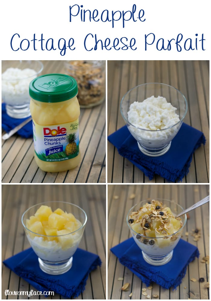 Pineapple Cottage Cheese Parfait Via Flouronmyface
