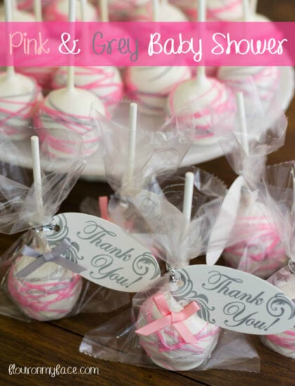 how to make baby face cake pops
