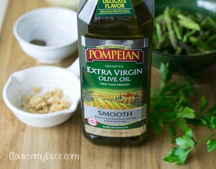 Pompeian Smooth Extra Virgin Olive OIl via flouronmyface.com