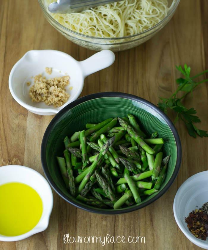 Sauteed Asparagus via flouronmyface.com