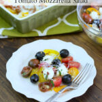 Tuscan Tomato Mozzarella Salad