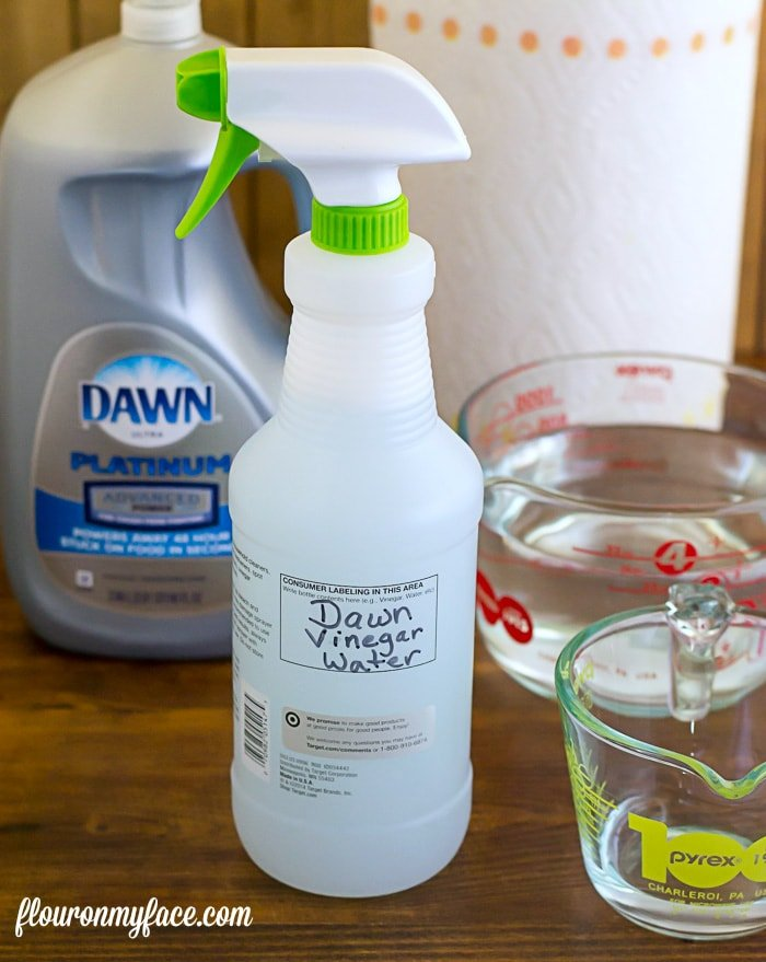 Homemade All-Purpose Cleaner - Flour On