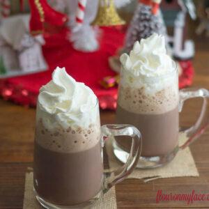 Easy Homemade Hot Cocoa recipe via flouronmyface.com #SweetSwaps #SplendaSweetie recipe